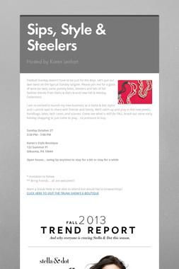 Sips, Style & Steelers