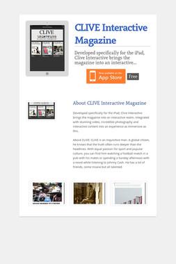 CLIVE Interactive Magazine