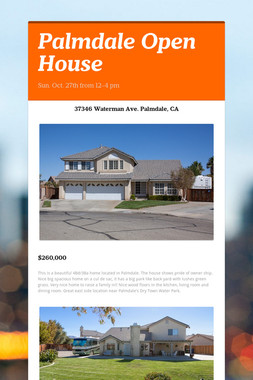 Palmdale Open House
