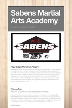 Sabens Martial Arts Academy