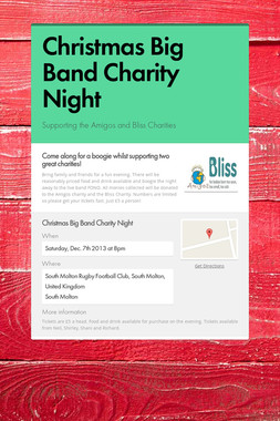 Christmas Big Band Charity Night