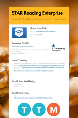 STAR Reading Enterprise