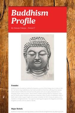 Buddhism Profile