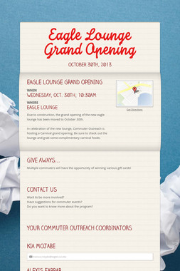 Eagle Lounge Grand Opening