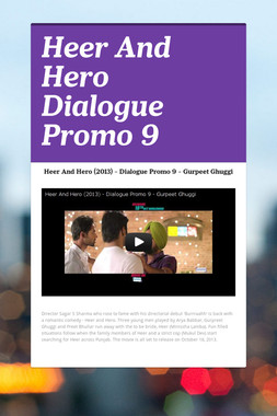 Heer And Hero Dialogue Promo 9