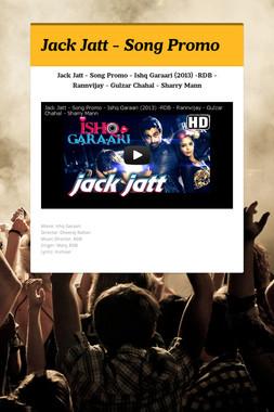 Jack Jatt - Song Promo