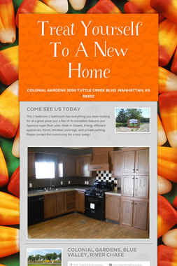 Treat Yourself To A New Home