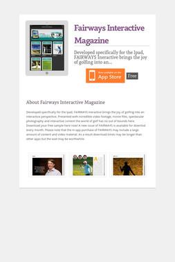 Fairways Interactive Magazine