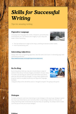 Skills for Successful Writing