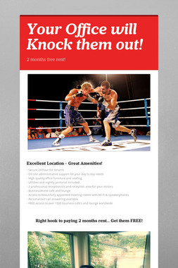 Your Office will Knock them out!