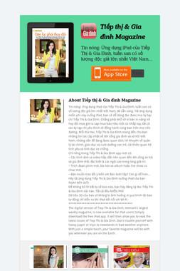 Tiếp thị & Gia đình Magazine