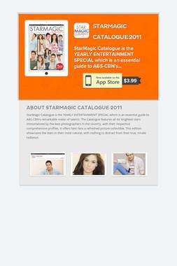 StarMagic Catalogue 2011