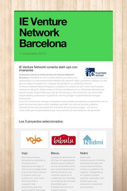 IE Venture Network Barcelona
