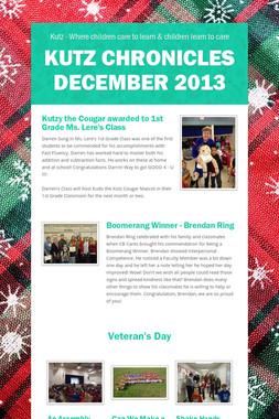 Kutz Chronicles December 2013