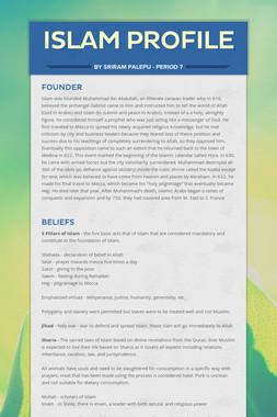 Islam Profile