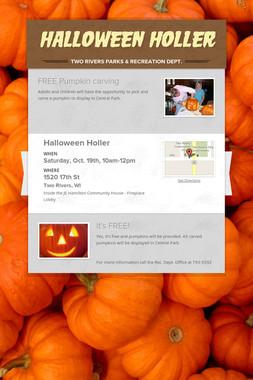 Halloween Holler