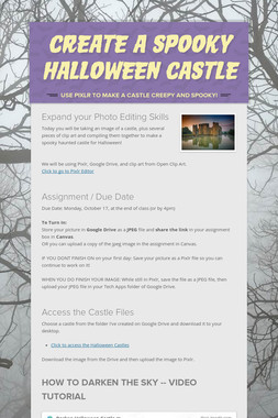 Create a Spooky Halloween Castle