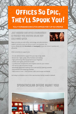 Offices So Epic, They'll Spook You!