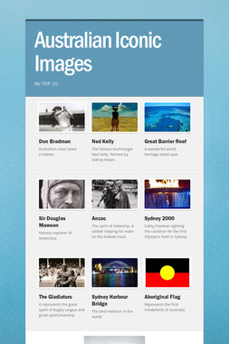 Australian Iconic Images