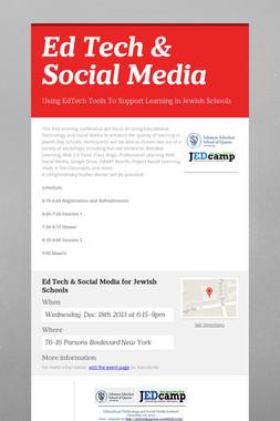 Ed Tech & Social Media