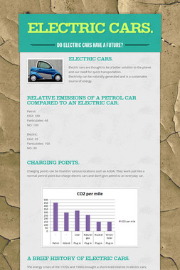 Electric Cars.