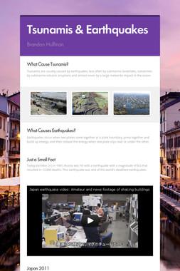 Tsunamis & Earthquakes