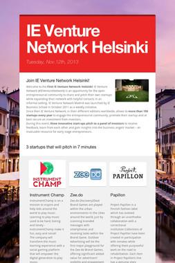 IE Venture Network Helsinki