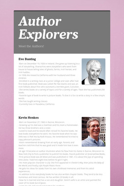 Author Explorers