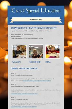 Crozet Special Education