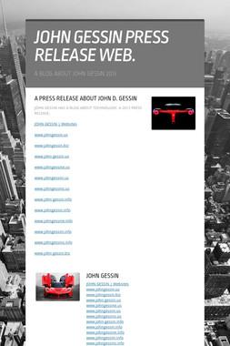 JOHN GESSIN PRESS RELEASE WEB.