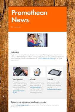 Promethean News