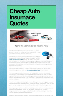 Cheap Auto Insurnace Quotes