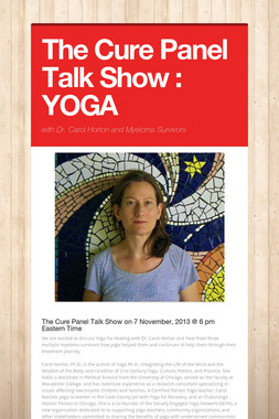 The Cure Panel Talk Show : YOGA