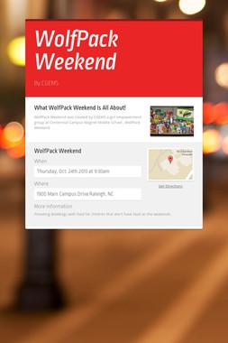 WolfPack Weekend