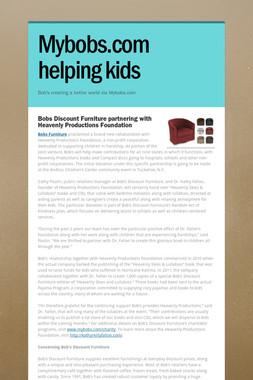 Mybobs.com helping kids