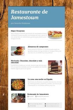 Restaurante de Jamestown