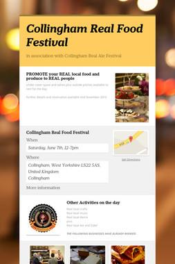 Collingham Real Food Festival