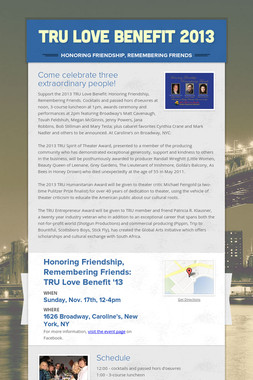 TRU Love Benefit 2013