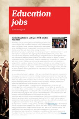 Education jobs