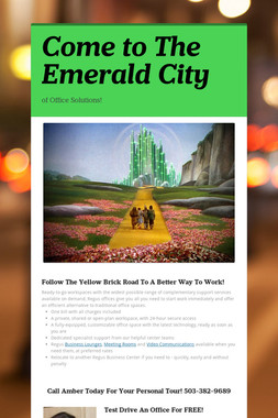 Come to The Emerald City