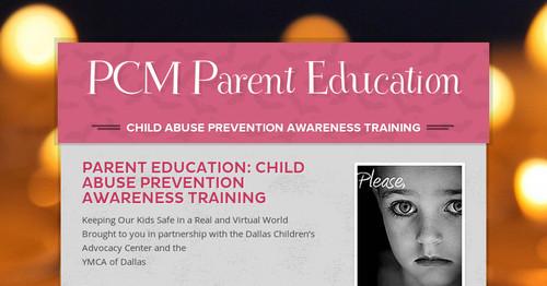 PCM Parent Education