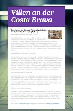 Villen an der Costa Brava