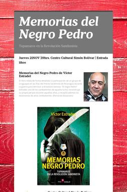 Memorias del Negro Pedro