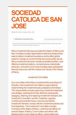 SOCIEDAD CATOLICA DE SAN JOSE