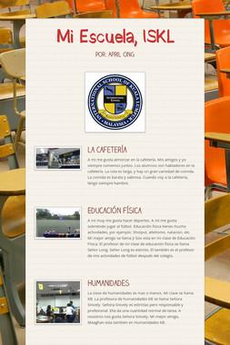 Mi Escuela, ISKL