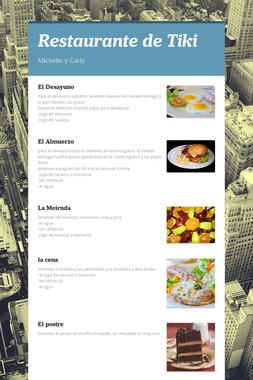Restaurante de Tiki