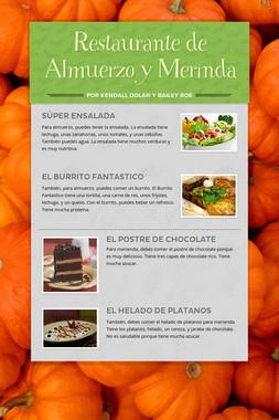 Restaurante de Almuerzo y Merinda