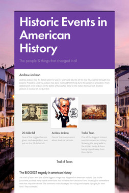 Historic Events in American History