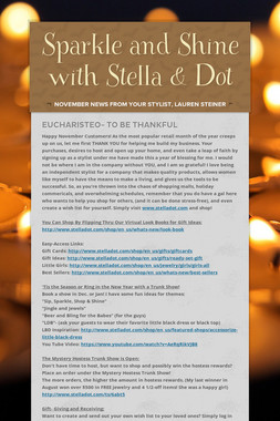 Sparkle and Shine with Stella & Dot