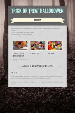 trick or treat  hallooowen